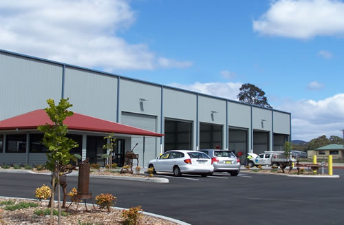 New head office complex Sapphire Coast Tree Service and Tower Hire, South Pambula